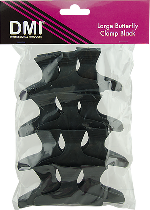 DMI Black Butterfly Clamps (12)